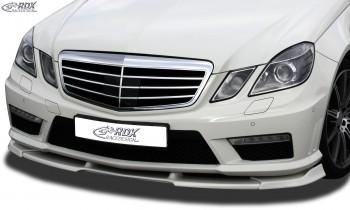 RDX Frontspoiler VARIO-X für MERCEDES E-Klasse W212 AMG 2009-2013 Frontlippe Front Ansatz Vorne Spoilerlippe