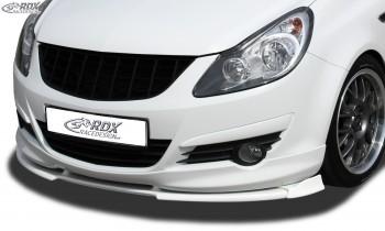 RDX Frontspoiler VARIO-X OPEL Corsa D -2010 OPC-Line Frontlippe Front Ansatz Vorne Spoilerlippe