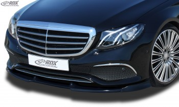 RDX Frontspoiler VARIO-X MERCEDES E-Klasse W213 2016+ Frontlippe Front Ansatz Vorne Spoilerlippe
