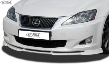 RDX Frontspoiler VARIO-X LEXUS IS XE2 Frontlippe Front Ansatz Vorne Spoilerlippe