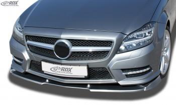 RDX Frontspoiler VARIO-X für MERCEDES CLS-Klasse C218 -08/2014 i.V.m. AMG-Paket Frontlippe Front Ansatz Vorne Spoilerlippe
