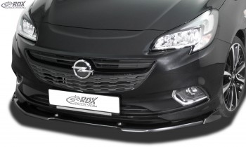 RDX Frontspoiler VARIO-X OPEL Corsa E OPC-Line Frontlippe Front Ansatz Vorne Spoilerlippe