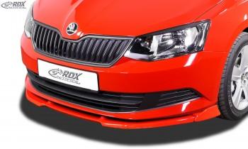 RDX Frontspoiler VARIO-X SKODA Fabia 3 Typ NJ Frontlippe Front Ansatz Vorne Spoilerlippe