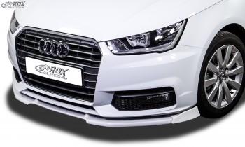 RDX Frontspoiler VARIO-X AUDI A1 8X & A1 8XA Sportback (01/2015+; nicht S-Line) Frontlippe Front Ansatz Vorne Spoilerlippe