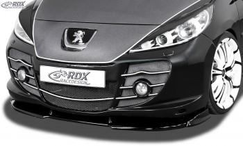 RDX Frontspoiler VARIO-X PEUGEOT 207 i.V.m. Abbes-Front Frontlippe Front Ansatz Vorne Spoilerlippe