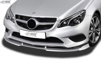 RDX Frontspoiler VARIO-X MERCEDES E-Klasse Cabrio A207 / Coupe C207 2013+ Frontlippe Front Ansatz Vorne Spoilerlippe