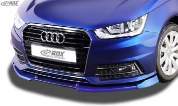 RDX Frontspoiler VARIO-X AUDI A1 8X & A1 8XA Sportback S-Line (01/2015+) Frontlippe Front Ansatz Vorne Spoilerlippe