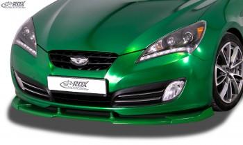 RDX Frontspoiler VARIO-X HYUNDAI Genesis Coupe 2008-2012 Frontlippe Front Ansatz Vorne Spoilerlippe