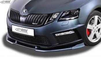 RDX Frontspoiler VARIO-X SKODA Octavia 3 (5E) RS Facelift 2017+ Frontlippe Front Ansatz Vorne Spoilerlippe