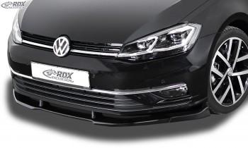 RDX Frontspoiler VARIO-X VW Golf 7 Facelift 2017+ Frontlippe Front Ansatz Vorne Spoilerlippe