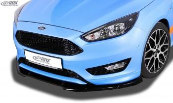 RDX Frontspoiler VARIO-X FORD Focus 3 ST-Line Facelift (2015+) Frontlippe Front Ansatz Vorne Spoilerlippe
