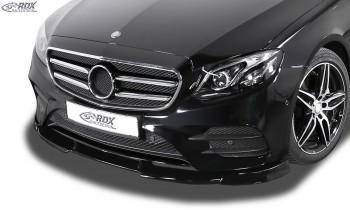 RDX Frontspoiler VARIO-X MERCEDES E-Klasse W213 AMG-Line 2016+ Frontlippe Front Ansatz Vorne Spoilerlippe