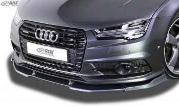 RDX Frontspoiler VARIO-X AUDI A7 & S7 2014-2018 (S-Line bzw. S7 Frontstoßstange) Frontlippe Front Ansatz Vorne Spoilerlippe