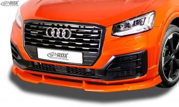 RDX Frontspoiler VARIO-X AUDI Q2 S-Line 2016+ Frontlippe Front Ansatz Vorne Spoilerlippe