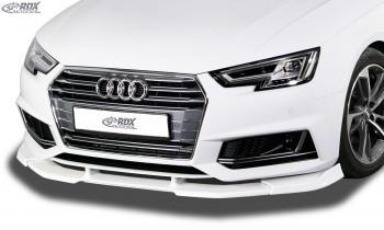 RDX Frontspoiler VARIO-X AUDI A4 8W B9 (S-Line- bzw. S4-Frontstoßstange) Frontlippe Front Ansatz Vorne Spoilerlippe