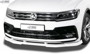 RDX Frontspoiler VARIO-X VW Tiguan (2016+) R-Line Frontlippe Front Ansatz Vorne Spoilerlippe