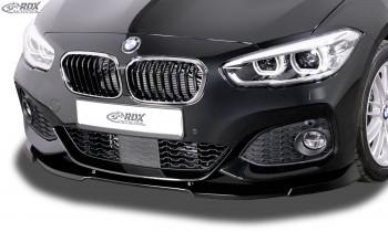 RDX Frontspoiler VARIO-X BMW 1er F20 / F21 M-Sport & M140 2015+ Frontlippe Front Ansatz Vorne Spoilerlippe