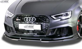 RDX Frontspoiler VARIO-X AUDI RS3 8V 2017+ Frontlippe Front Ansatz Vorne Spoilerlippe