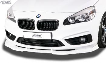 RDX Frontspoiler VARIO-X BMW 2er F45 Active Tourer / F46 Gran Tourer (2015-2018) Frontlippe Front Ansatz Vorne Spoilerlippe
