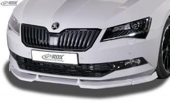 RDX Frontspoiler VARIO-X SKODA Superb 3 (3V) Frontlippe Front Ansatz Vorne Spoilerlippe