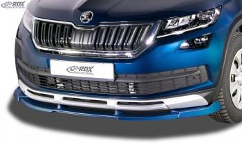 RDX Frontspoiler VARIO-X für SKODA Kodiaq Scout (NS) Frontlippe Front Ansatz Vorne Spoilerlippe