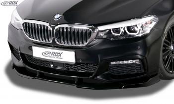RDX Frontspoiler VARIO-X für BMW 5er G30, G31, G38 für M-Sport/M-Paket Frontlippe Front Ansatz Vorne Spoilerlippe