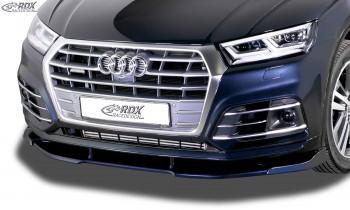 RDX Frontspoiler VARIO-X für AUDI Q5 (FY) S-Line & SQ5 Frontlippe Front Ansatz Vorne Spoilerlippe