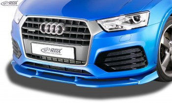 RDX Frontspoiler VARIO-X für AUDI Q3 8U S-Line (2014-2018) Frontlippe Front Ansatz Vorne Spoilerlippe