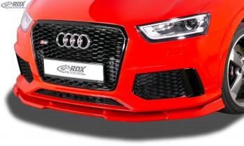 RDX Frontspoiler VARIO-X für AUDI RS Q3 8U (2013-2018) Frontlippe Front Ansatz Vorne Spoilerlippe