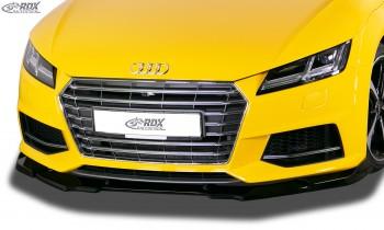 RDX Frontspoiler VARIO-X AUDI TT (FV/8S) 2018+ Frontlippe Front Ansatz Vorne Spoilerlippe