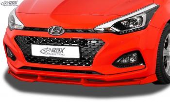 RDX Frontspoiler VARIO-X HYUNDAI i20 GB (2018+) Frontlippe Front Ansatz Vorne Spoilerlippe