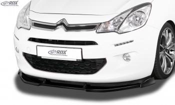RDX Frontspoiler VARIO-X CITROEN C3 2013-2017 Frontlippe Front Ansatz Vorne Spoilerlippe