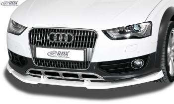 RDX Frontspoiler VARIO-X für AUDI A4 Allroad B8 2011+ Frontlippe Front Ansatz Vorne Spoilerlippe