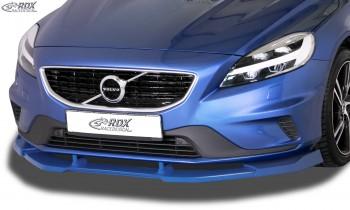 RDX Frontspoiler VARIO-X für VOLVO V40 R-Design 2013+ Frontlippe Front Ansatz Vorne Spoilerlippe