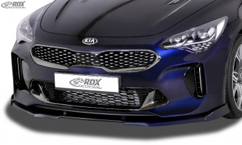 RDX Frontspoiler VARIO-X für KIA Stinger (CK) Frontlippe Front Ansatz Vorne Spoilerlippe