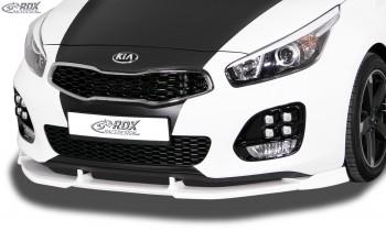 RDX Frontspoiler VARIO-X für KIA Ceed, Ceed SW, Pro Ceed GT & GT-Line Typ JD (2015+) Frontlippe Front Ansatz Vorne Spoilerlippe
