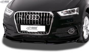 RDX Frontspoiler VARIO-X für AUDI Q3 8U S-Line (2011-2014) Frontlippe Front Ansatz Vorne Spoilerlippe