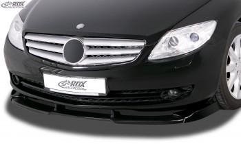 RDX Frontspoiler VARIO-X MERCEDES CL-Klasse C216 (-2010) Frontlippe Front Ansatz Vorne Spoilerlippe