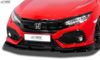 RDX Frontspoiler VARIO-X HONDA Civic 2017+ Frontlippe Front Ansatz Vorne Spoilerlippe