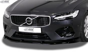 RDX Frontspoiler VARIO-X VOLVO V90 / S90 R-Design (2016+) Frontlippe Front Ansatz Vorne Spoilerlippe