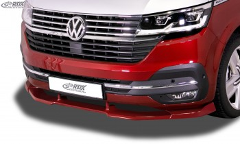 RDX Frontspoiler VARIO-X VW T6.1 (für werkseitig lackierte und unlackierte Stoßstange) Frontlippe Front Ansatz Vorne Spoilerlippe