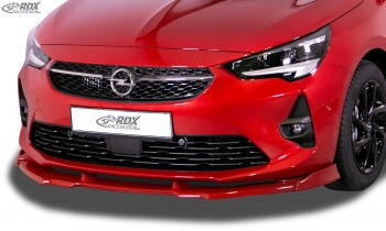 RDX Frontspoiler VARIO-X OPEL Corsa F GS-Line Frontlippe Front Ansatz Vorne Spoilerlippe