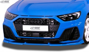 RDX Front Spoiler VARIO-X AUDI A1 (GB) S-Line & Edition One Front Lip Splitter