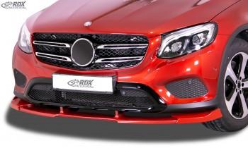 RDX Frontspoiler VARIO-X MERCEDES GLC X253 & GLC Coupé C253 -2019 Frontlippe Front Ansatz Vorne Spoilerlippe