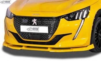 RDX Frontspoiler PEUGEOT 208 (2019+) Frontlippe Front Ansatz Vorne Spoilerlippe