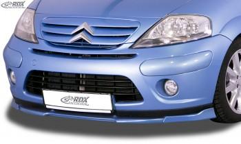 RDX Front Spoiler VARIO-X for CITROEN C3 2005-2009 Front Lip Splitter