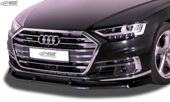 RDX Front Spoiler VARIO-X for AUDI A8 D5 F8 Front Lip Splitter