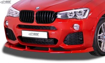 RDX Front Spoiler VARIO-X for BMW X3 F25 M-Sport & M-Technic 2014-2017 Front Lip Splitter