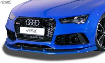 RDX Frontspoiler VARIO-X für AUDI RS7 (-2018) Frontlippe Front Ansatz Vorne Spoilerlippe