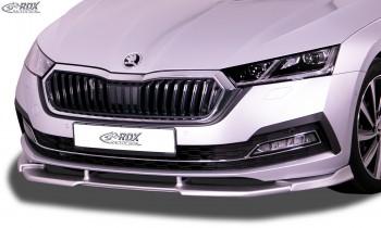 RDX Front Spoiler VARIO-X for SKODA Octavia 4 / IV (NX) Front Lip Splitter